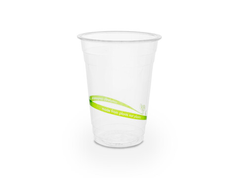 PLA Klarbecher 400 ml/16oz, Ø 9,6 cm Eco Print