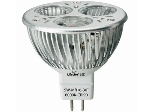 Vollspektrum Strahler LifeLite® LED Gold 5 W/MR16 - warmweiss