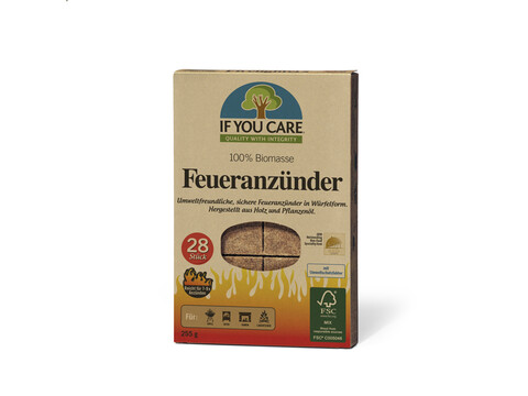 IF YOU CARE Feueranzünder - 12er Pack