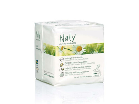 Naty® Damenbinden Normal 15 Stk.